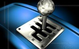变速杆移动通信工具 免版税库存图片