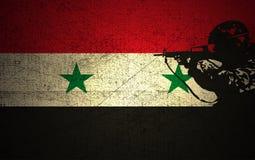 叙利亚冲突 免版税库存照片