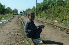 从叙利亚的孩子 免版税库存照片