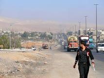 叙利亚,大马士革- 11月5。 库存照片