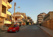 叙利亚,拉塔基亚- 11月4 :市中心。 图库摄影