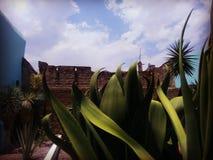 叛乱博物馆在绅士亭子,阿瓜斯卡连特斯州,墨西哥 免版税库存照片