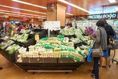口味超级市场 库存照片