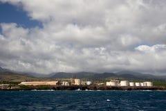 口岸亚伦,考艾岛,夏威夷 免版税库存照片