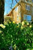 口岸唐森, WA - 2014年4月12日:维多利亚女王时代的样式房子外部  口岸Townsend, WA 库存图片