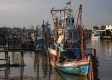 口岸在泰国 免版税库存照片