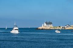 口岸在Marstrand 库存图片