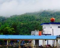 口岸在sabang海岛 图库摄影