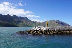 口岸的美好的风景在开普敦,南非 免版税库存照片