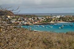 口岸美好的coastland风景在圣 免版税库存图片