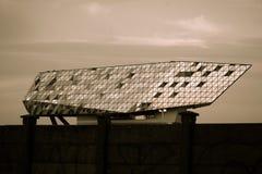 口岸议院,安特卫普,比利时,萨哈・哈帝建筑师 库存照片