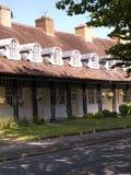 口岸阳光式样村庄的家,在1888年创造由他的阳光肥皂厂工作者的威廉Hesketh杠杆 免版税库存图片
