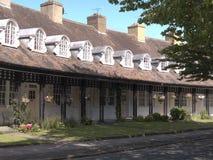 口岸阳光式样村庄的家,在1888年创造由他的阳光肥皂厂工作者的威廉Hesketh杠杆 库存图片