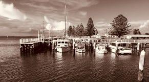 口岸阿尔伯特,维多利亚,澳大利亚 库存照片