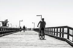口岸Hueneme码头 免版税图库摄影