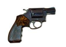 .38口径左轮手枪 免版税库存照片