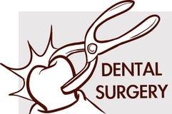 口腔外科 牙齿诊所略写法概念象 免版税库存图片