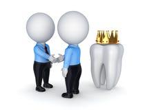 口腔医学概念。 免版税库存照片