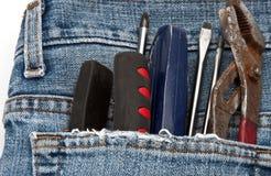口袋工具 库存图片