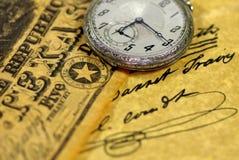 口袋得克萨斯手表 免版税库存图片