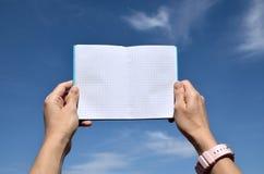 口袋笔记本 免版税库存图片