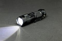 口袋LED手电 库存照片