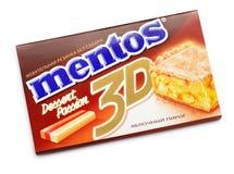 口香糖Mentos 3D 库存图片