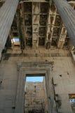 古体希腊寺庙 库存图片
