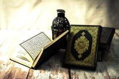 古兰经-所有穆斯林穆斯林公开项目圣经t的 免版税库存照片