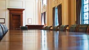 古典会议室 免版税库存照片