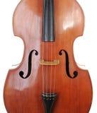 古典低音提琴 免版税库存图片