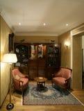 古典住宅人员富有的空间样式 免版税库存照片