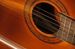 古典吉他西班牙语 库存图片