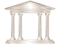古典寺庙 向量例证