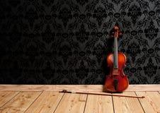 古典小提琴 库存图片