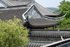 古典屋顶样式 免版税库存照片
