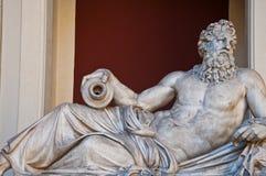 古典希腊语大理石雕塑 图库摄影