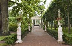 古典庭院 库存图片