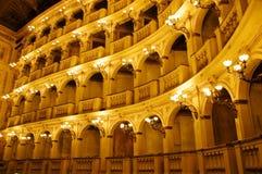 古典意大利剧院 库存照片