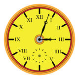 古典手表 向量例证