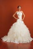 古典新娘 免版税库存照片