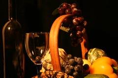 古典构成果子玻璃 免版税库存照片