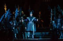 古典歌剧抒情诗人 库存照片