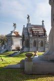 古典殖民地法国公墓在新奥尔良,路易斯安那 库存图片