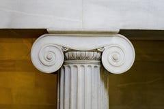古典特写镜头内部柱子 免版税图库摄影