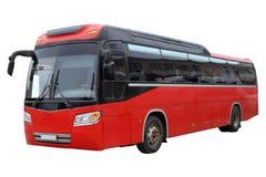 古典红色公共汽车 免版税库存图片