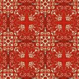 古典红色纹理 皇族释放例证