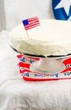 古典纽约乳酪蛋糕 库存图片