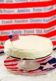 古典纽约乳酪蛋糕 免版税库存照片