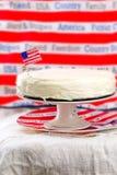 古典纽约乳酪蛋糕 库存照片